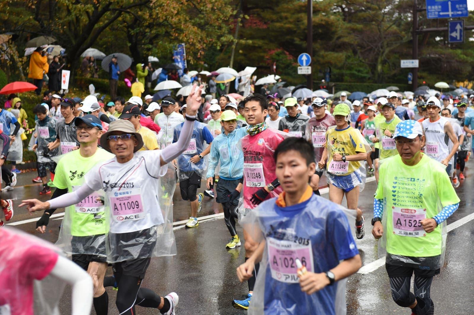 金沢マラソンサポート事業